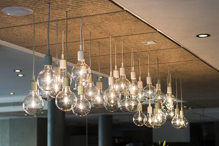 Lampade a goccia di design