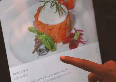 Menu digitale per ristoranti multitouch RistoPixel