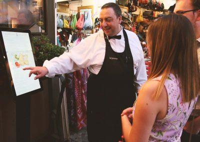 Menu touch per ristoranti e bar RistoPixel